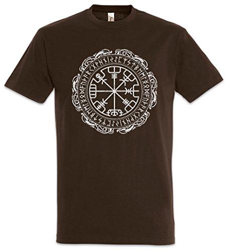 The Mermaid Conviction Helmet of Awe Rune Pattern T-Shirt Größen S-5XL