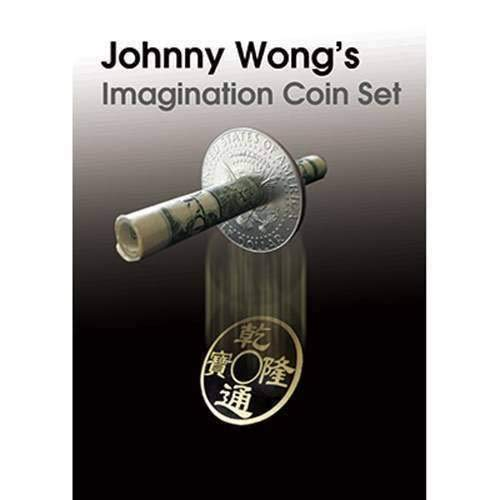 SOLOMAGIA Johnny Wong's Imagination Coin Set (with DVD ) by Johnny Wong - Magic with Coins - Trucos Magia y la Magia