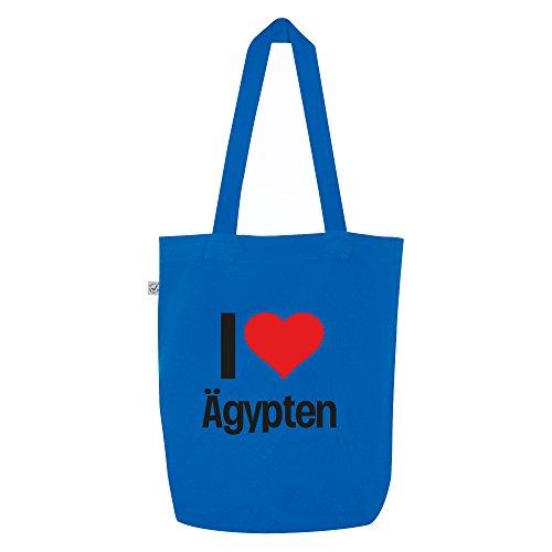 Outfits Ägypten (i love Ägypten Motiv auf Umhängetasche, Jutebeutel, Tasche, stylisches Modeaccessoire, Unisex, viele Sprüche und)
