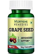 Morpheme Remedies Grape Seed Extract 500 mg - 60 Veg Capsules
