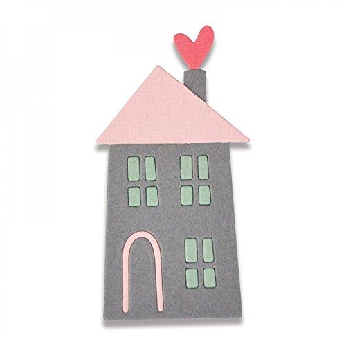 Sizzix Thinlits Stanzen - Zuhause ist es am schönsten #2, Stahl, Mehrfarbig, 13.5 x 8 x 0.2 cm