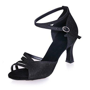 Scarpe da ballo latino Nero