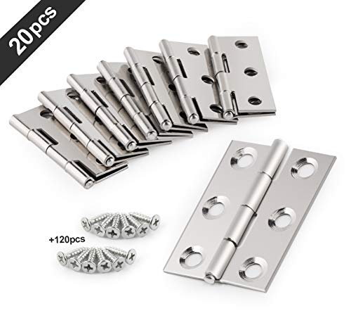 20 Pcs Stainless Steel Folding B...