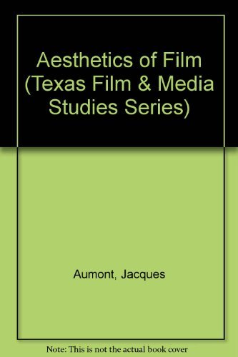 Portada del libro Aesthetics of Film (Texas Film Studies Series) by Alain Bergala (1992-06-01)