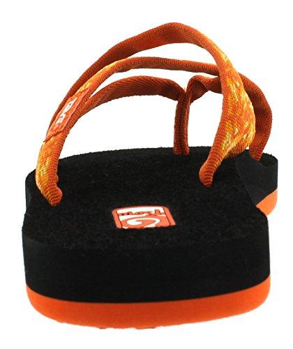 Teva Olowahu W's, Tongs Femme Orange (Hazel Orange 872)