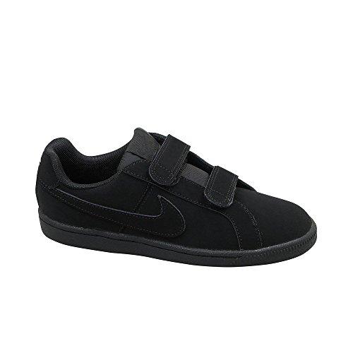 Nike court royale psv - 833536001 - colore: nero - taglia: 31.0