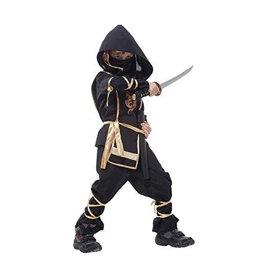 HR Halloween-Kinder zeigen japanisches Ninja-Set (größe : -