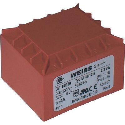 Weiss Elektrotechnik PRINTTRAFO 3,2VA 230V / 6V / 533MA