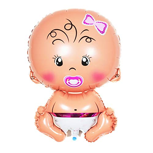 (Outflower Aluminium Ballon - Baby Schnuller Puppe Ballon - Geburtstag Cartoon Ballon -30 Zoll - geeignet zum Spielen mit Kindern)