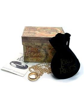 Medioevo Herr der Ringe Ring Der Eine Ring (Goldene Schrift) 18 mm