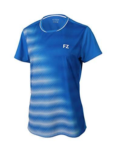 FZ Forza - Sport T-Shirt Hulda - blau, für Damen - geeignet für Fitness, Running, Fußball, Squash, Badminton, Tennis etc. - M