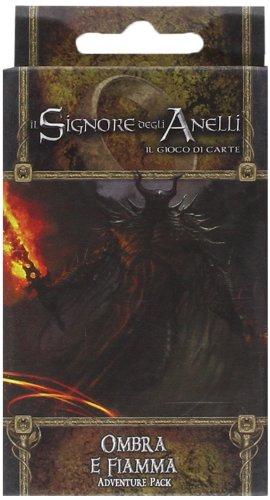 Giochi Uniti - Il Signore degli Anelli Ombra e Fiamma [Espansione per Il Signore degli Anelli, Il Gioco di Carte]