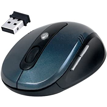 Wireless Mouse with Scroll Wheel - Daffodil WMS330 - 5 Button Cordless Computer Mouse