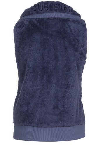 Sublevel Teddy Fleece Vest Middle Blue