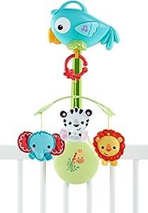 Fisher Price - Móvil musical 3 en 1 (Mattel CHR11-1), edad 05 meses