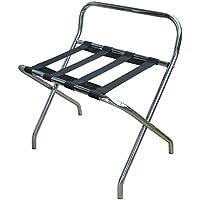 JVD Soporte equipaje Metal cromado con dosseret–Rack equipaje para cámara Hotel–ref. 866506