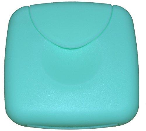 Tampon Aufbewahrung / Tampon Box / Dose für Tampons, Kondome oder Pflaster - Binden und Slipeinlagen (Mint / Türkis)