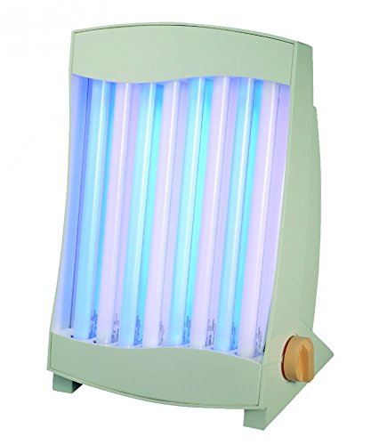 Beauty Tanning Lamp Deluxe Wellness Tanning Lamp with 8 Special Philips Tubes - Facial Treatment Solarium 150W Made in Germany - Special Offer - While Stocks Last!