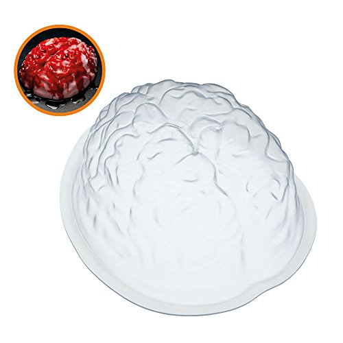 KitchenCraft spkyjelbrain Puddingform, weiß