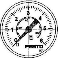 Festo 187078Bio MA-40–6-r1/4-en Manometer