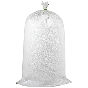 SGS Industries Bean Bag Refill, 1 Kilogram (White)