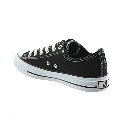 Mulheres Preto Preto ups Unisex Jumex Senhoras Sapatilhas Lace Sapatos Lazer 5qOXPSwU