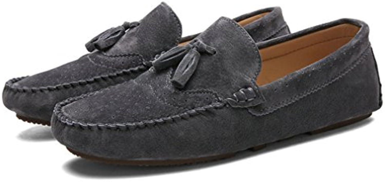 Xianshu Suave Respirable Moccasins Mocasín Planos Zapatilla Zapatos