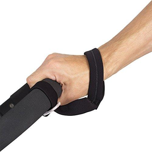 Mit dem Buggy Tuggy - Handgelenkriemen für Kinderwagen - behalten Sie die volle Kontrolle und gewährleisten die Sicherheit Ihres Kindes | hergestellt in Deutschland - Marke bebon® (Riemen Buggy)