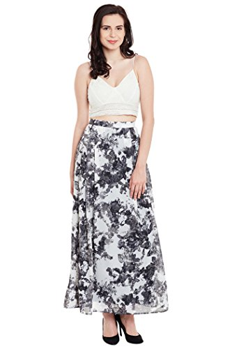 The Vanca Women's Maxi skirt with slim waistband  available at amazon for Rs.499