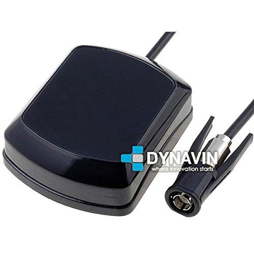 ANT-GPS.BCKR - 5 metros. Ganancia 28dB. Antena de GPS Dynavin para navegaciones originales Becker, JVC, Mercedes, Pioneer, Sony con conector gps WICLIC