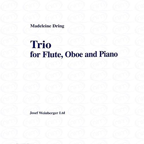 TRIO - arrangiert für Querflöte - Oboe - Klavier [Noten/Sheetmusic] Komponist : DRING MADELEINE