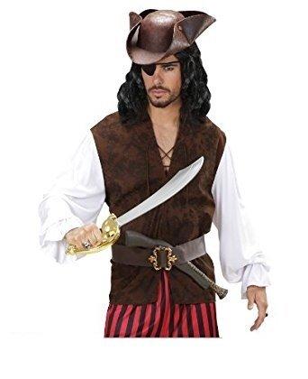 Blackbeard Für Kostüm Erwachsene (Piraten-Hemd für Herren M /)
