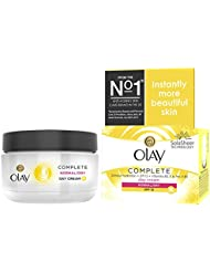 Olay Complete Care 3-in-1 Moisturiser Day Cream SPF 15 for Normal/Dry Skin, 50 ml