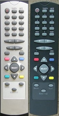 Original Remote Control RC2545 for Freeview settop boxes Acoustic Solutions, Akura, Bush, Digihome, Goodmans, Grundig, Hitachi, Linsar, Logik, Luxor, SEG, Technika, Techwood, Wharfedale.