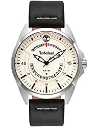 Timberland Mens Analogue Classic Quartz Watch with Leather Strap 15519JS 07 64daec60867