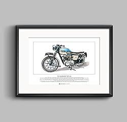 Triumph Bonneville T120 Art Print