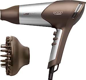 Clatronic - HTD 3363 Silver/Brown - Sèche Cheveux - 2000 W