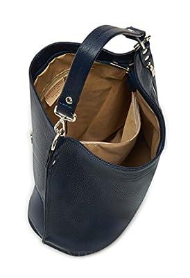 Montte Di Jinne -   100% piel italiana real   Grande   Hombro   Bolso   Bolsa   Regalo de lujo para las mujeres