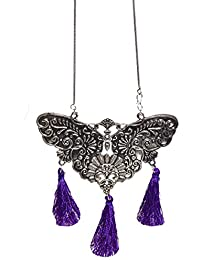 Aamoddhini Party Wear Western Fancy Designer Necklace Set For Women And Girls LN-64