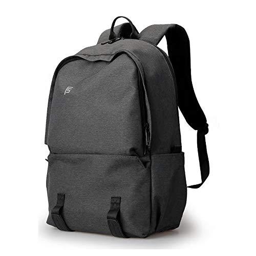 Sjbao Zaino Nuovi Uomini Backpacks 15.6Inch Laptop Maschio Computer Rucksack Moda Viaggio Viaggio Zaino Borsa Anti Thief Nero