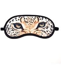 Super Soft & Comfortable For Proper Sleep ~ Tiger Eyes Sleeping Eye Mask ~ Nap Eye Shade Cartoon Blindfold Eyes...