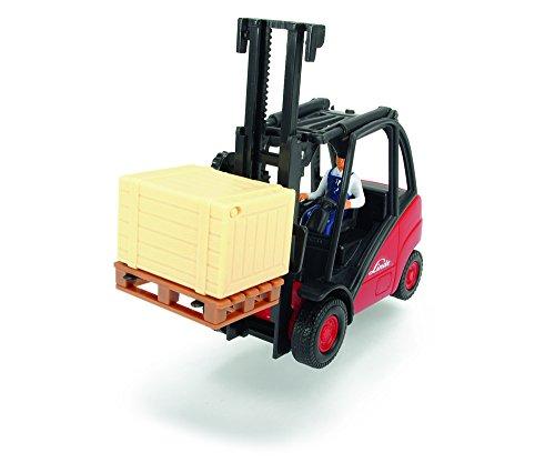Dickie de Juguete 203742005-Gabelstapler Cargo Lifter