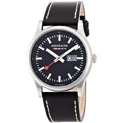 Mondaine Herren-Uhren Quarz Analog A669.30308.14SBB