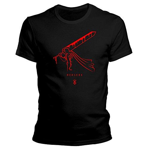 Berserk 4 Anime Guts Sword T-Shirt / Größe XS-4XL / Ideales Geschenk Schwarz