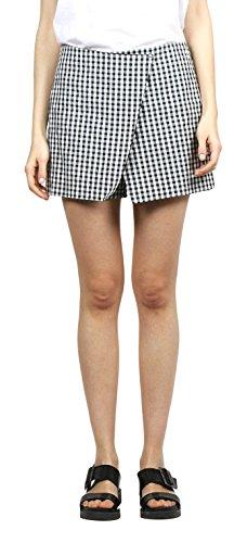 e66df9fa728b8 My faldas Women's Pantalã³n Casual Skirt, (Black), 8 (Size:Small
