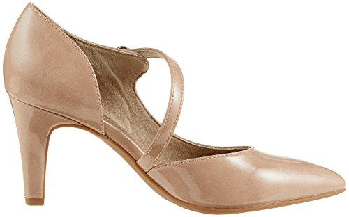 s.Oliver 24401, Scarpe con Tacco Donna Rosa (Lt Rose Patent)