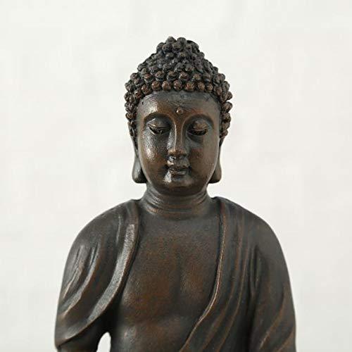 Buddha Teelichthalter im 2er Set je 19 cm - 7