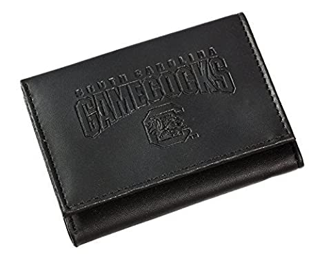 Team Sports America Leather South Carolina Gamecocks Tri-fold Wallet by Evergreen Enterprises, Inc.