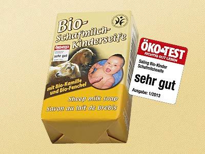Saling Bio-Schafsmilchseife Baby 100g
