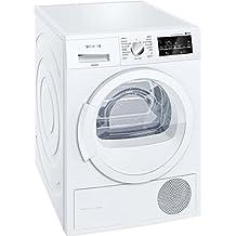 Siemens WT45G238EE Independiente Carga frontal 8kg A++ Color blanco - Secadora (Independiente, Carga frontal, Bomba de calor, Color blanco, Botones, Giratorio, Derecho)